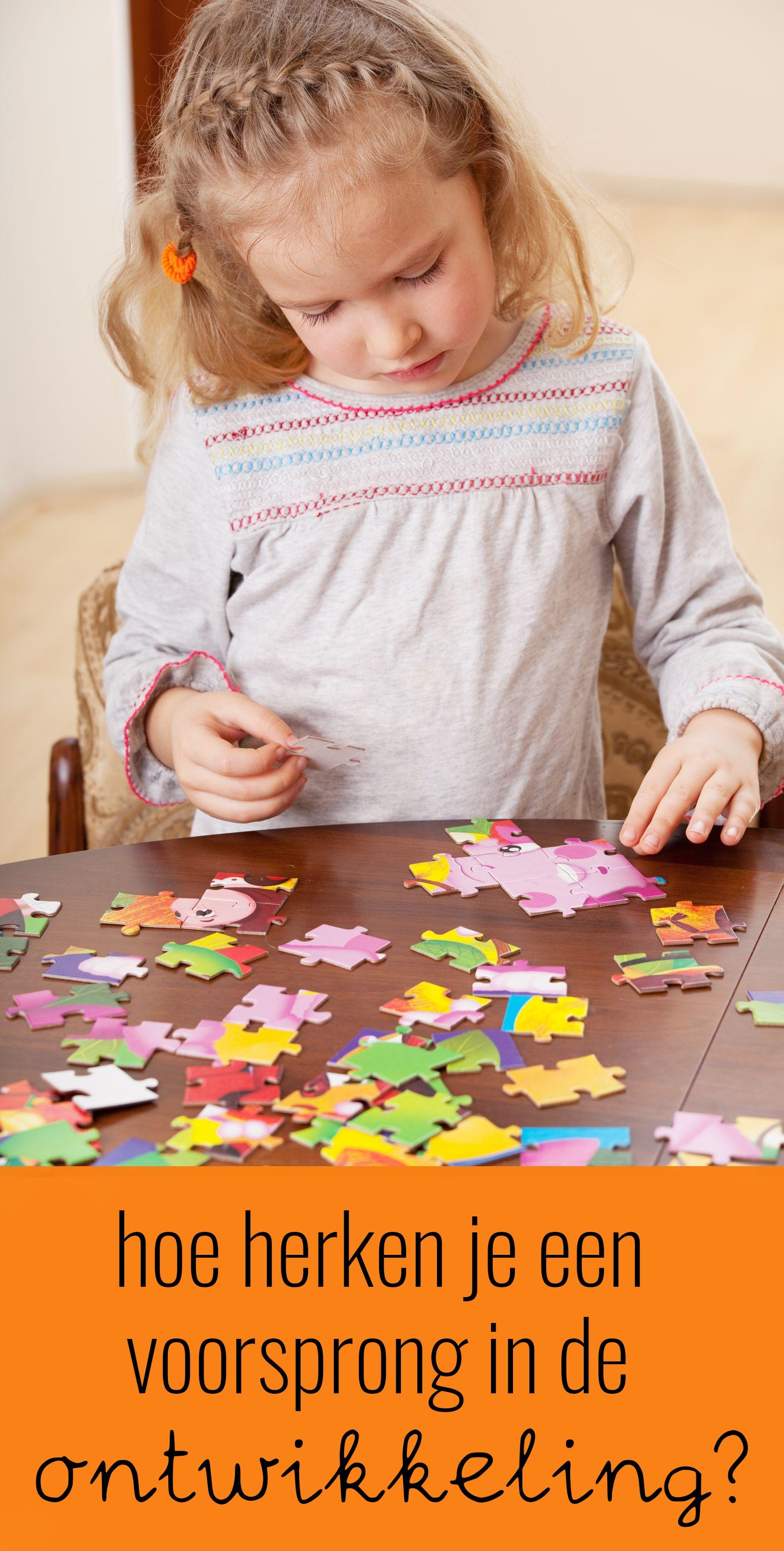 Hoe herken je een ontwikkelingsvoorsprong bij jonge kinderen?