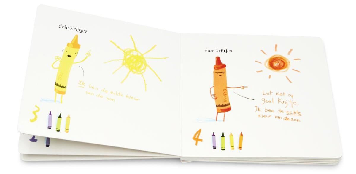 Boekentip: Tellen met de krijtjes