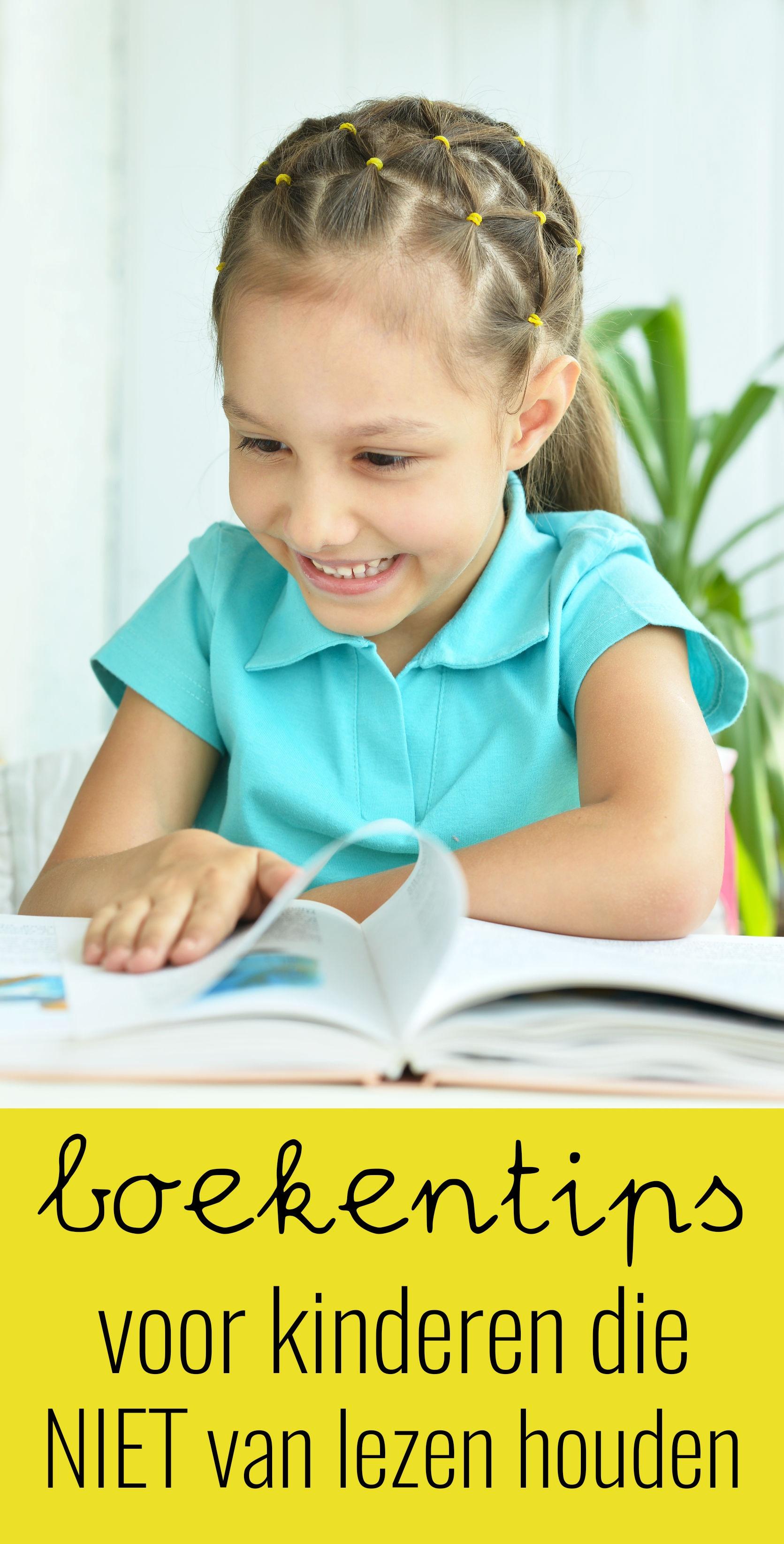 Boekentips voor kinderen die niet van lezen houden