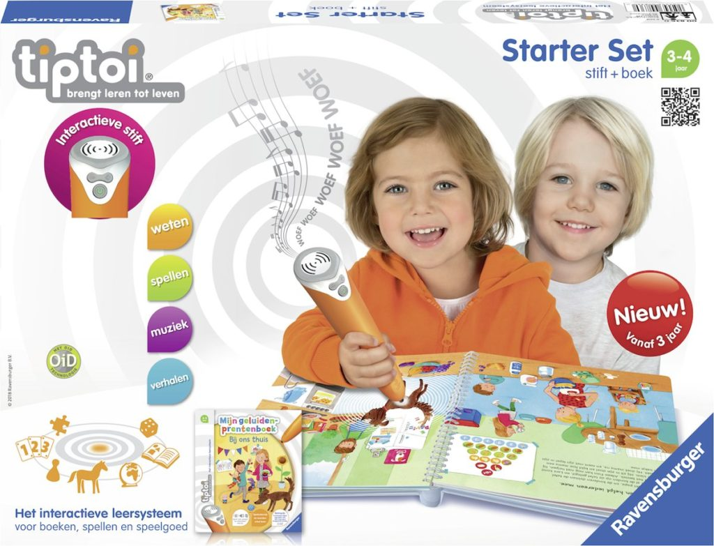 Tiptoi® Mijn geluiden prentenboek - Bij ons thuis