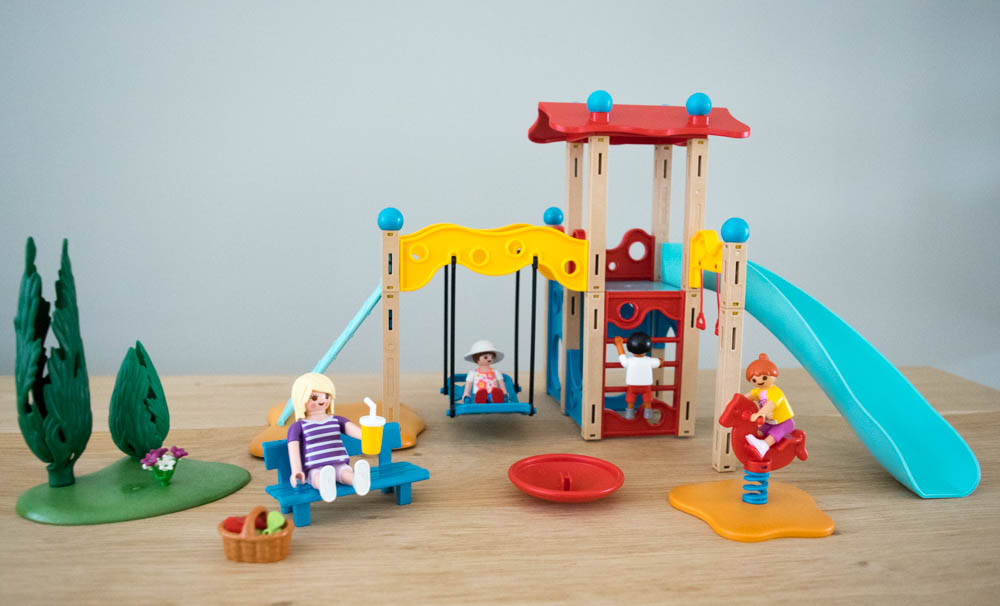 Playmobil speeltuin