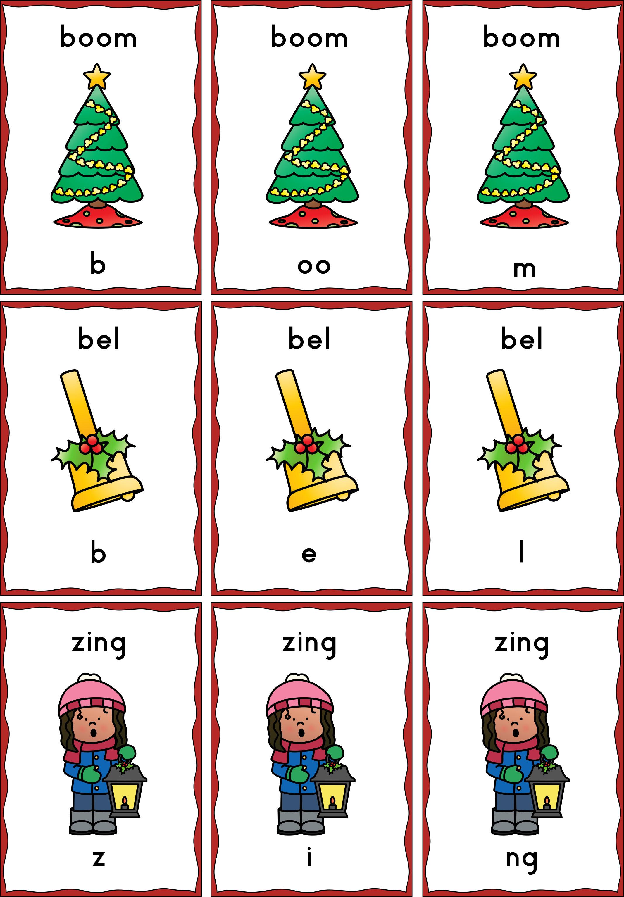 Spel drietal kerst groep 3