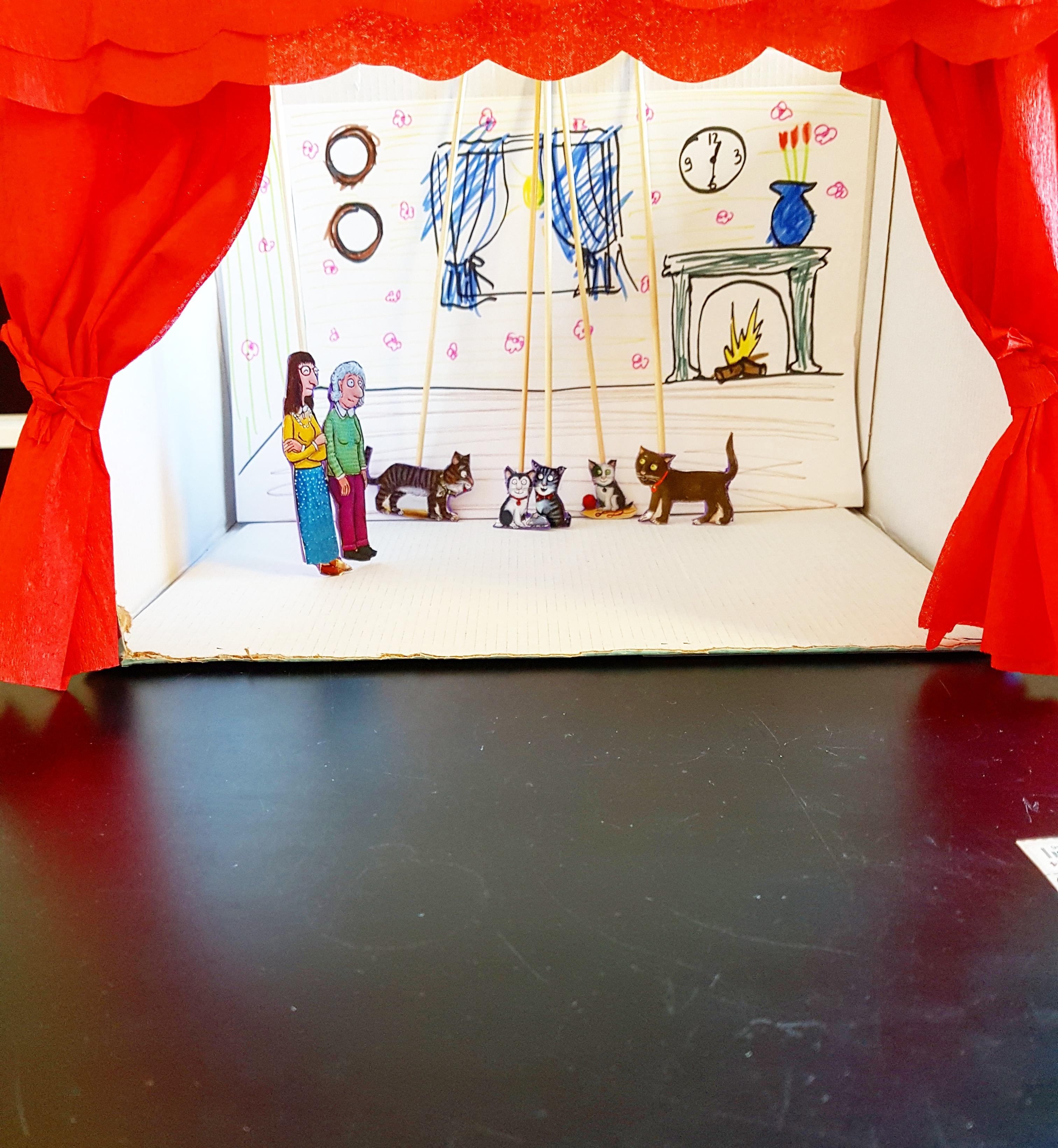 Kareltje Kat mini-theater