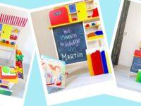 Het kleurenwinkeltje; spelen met de materialen