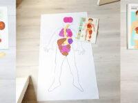 Hart van mama of anatomie les voor een vierjarige