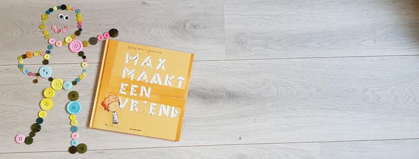 Boekentip: Max maakt een vriend