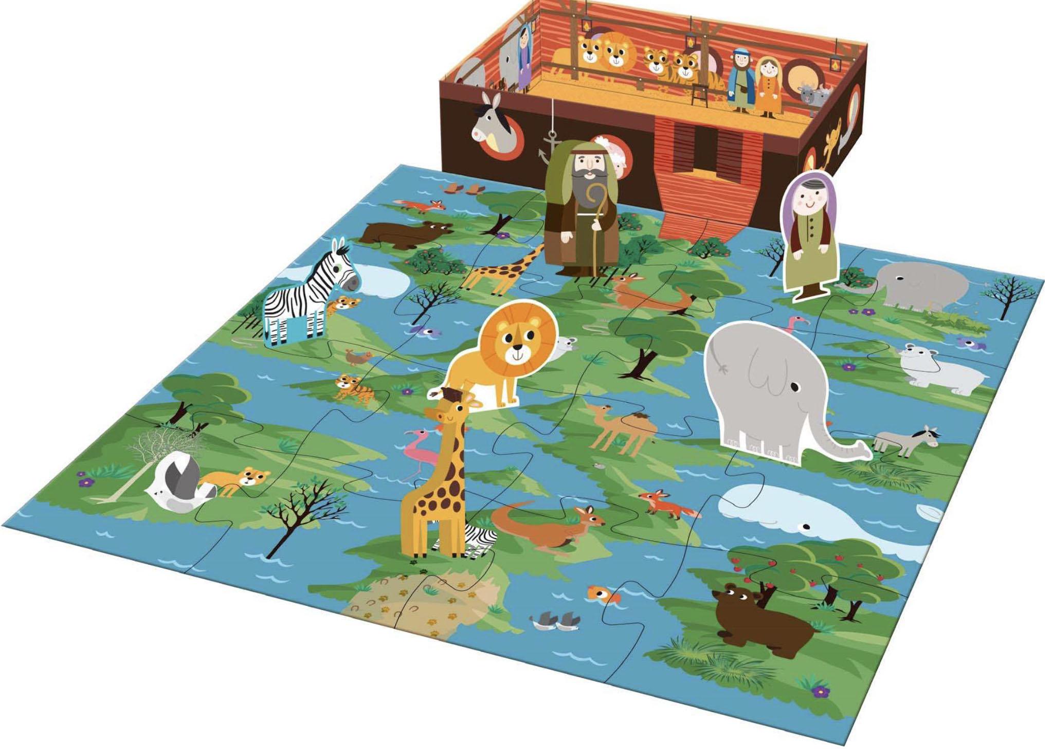 Mijn kleine verhalendoos - de ark van Noach