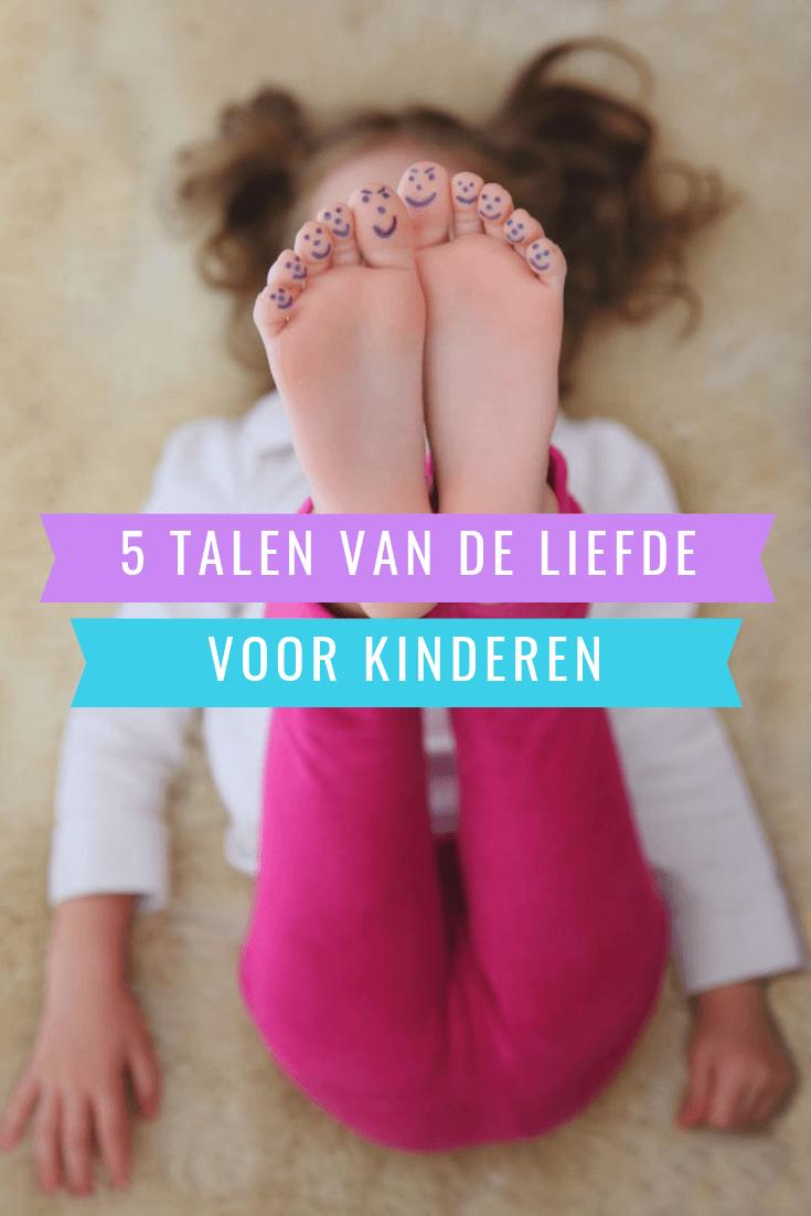 De 5 talen van de liefde voor kinderen