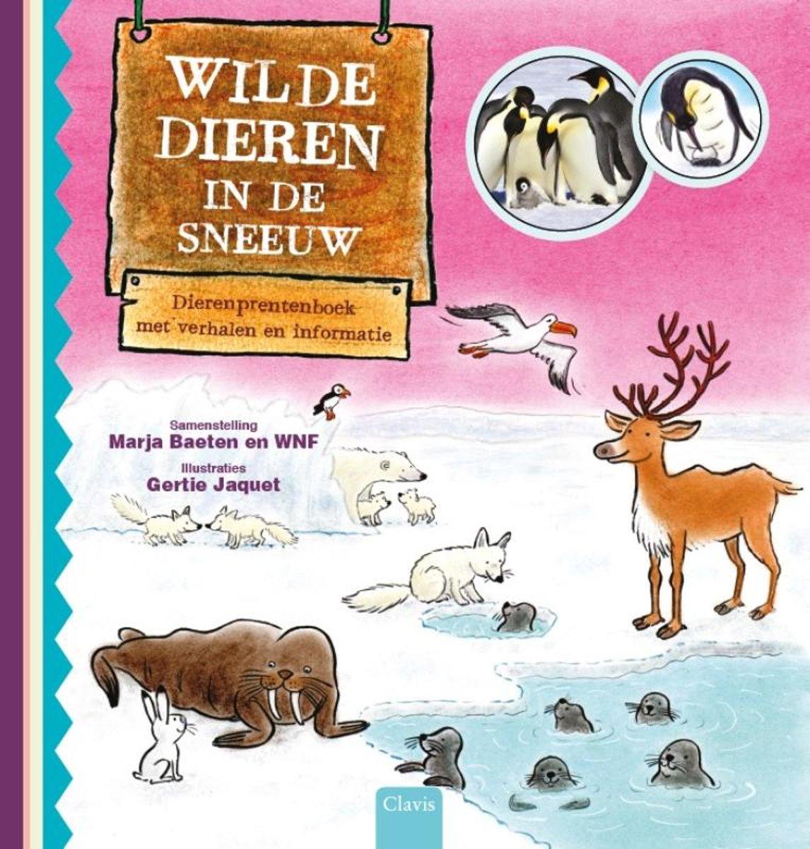 Boekentip: Wilde dieren in de sneeuw