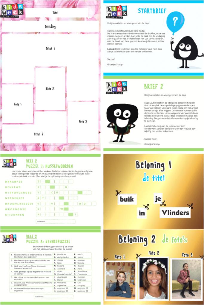 Kidsweek het grote escape spel