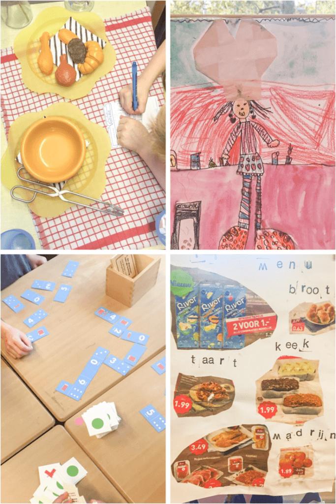 Werken met thema's in groep 3 - thema Smakelijk eten