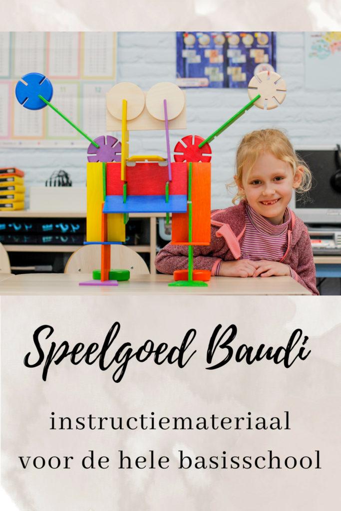 Speelgoed Baudi constructiemateriaal