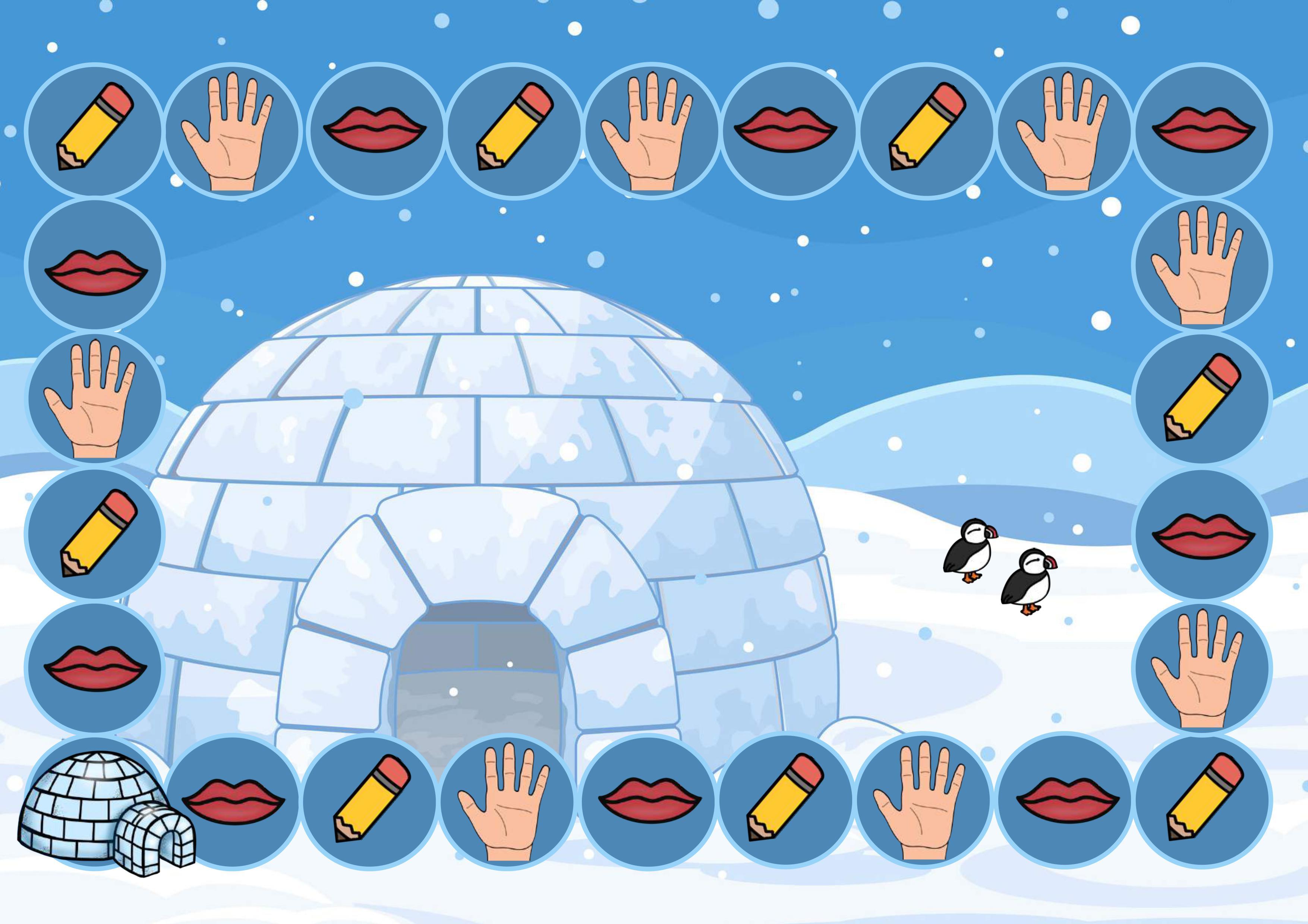 Taalspel Noordpool