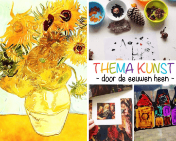 Thema kunst en Vincent van Gogh