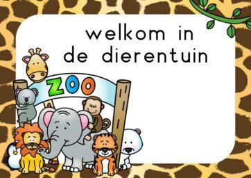 Themahoek dierentuin