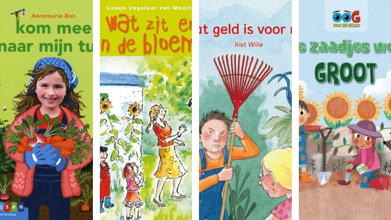 Thema tuincentrum boeken beginnende lezers
