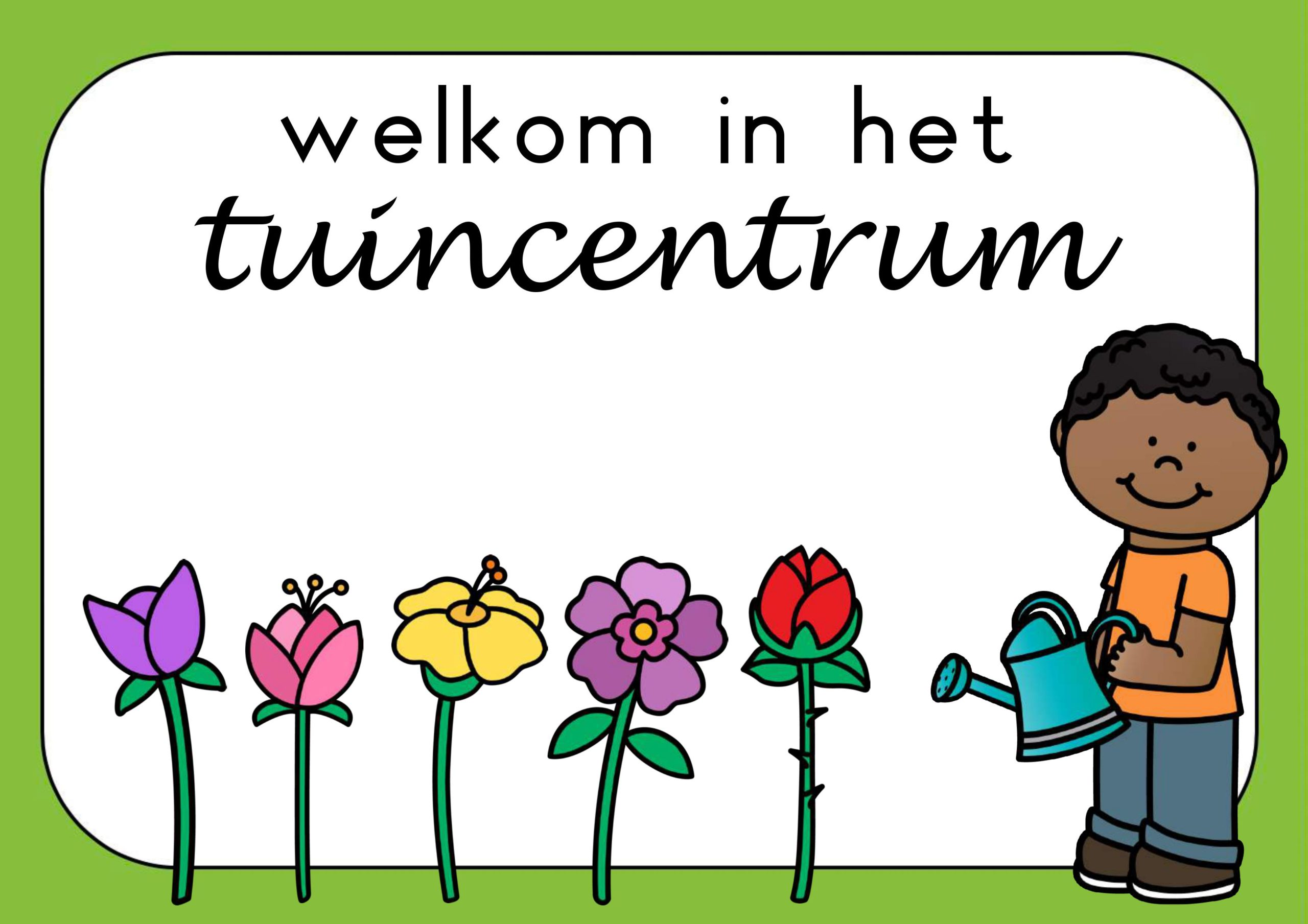 Themahoek tuincentrum