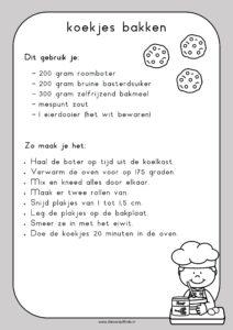recept koekjes