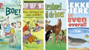 Thema dieren boeken beginnende lezers