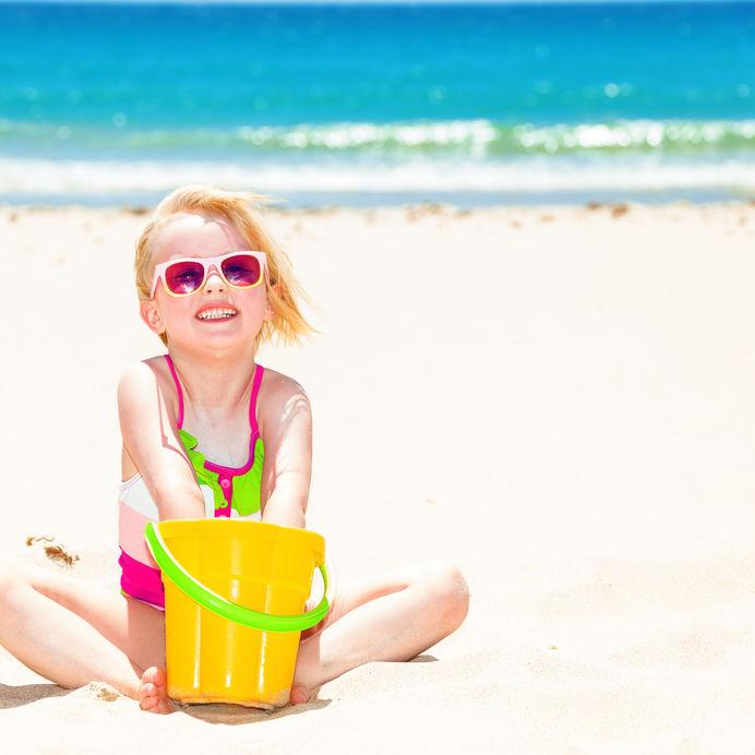 Themahoek het strand