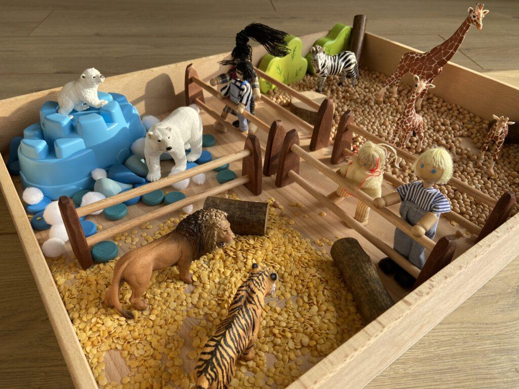 speeltafel dierentuin