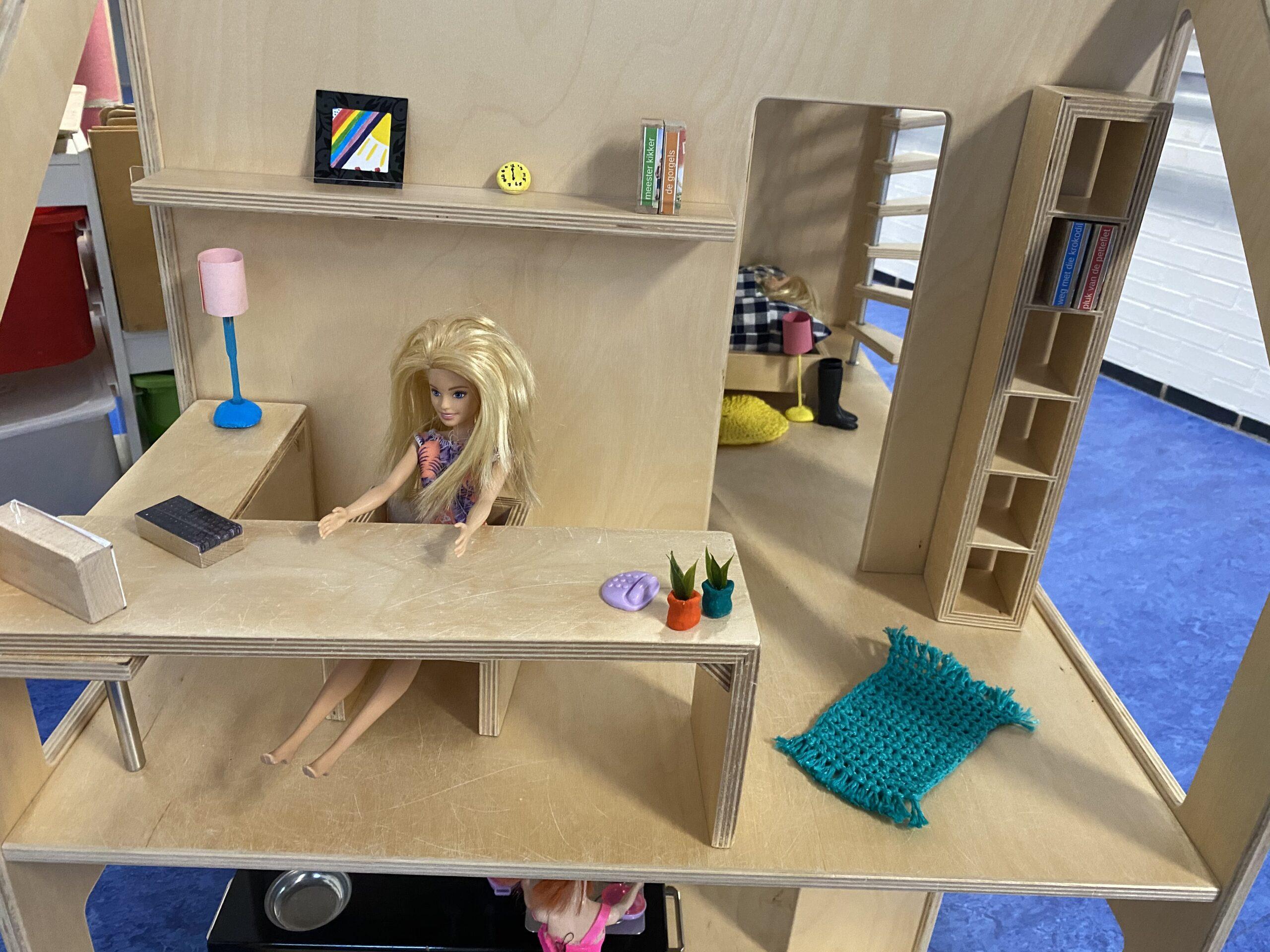 poppenhuis in de klas