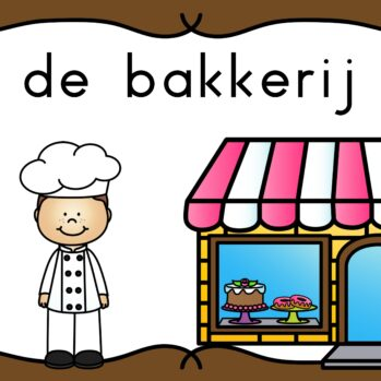Thema de bakkerij