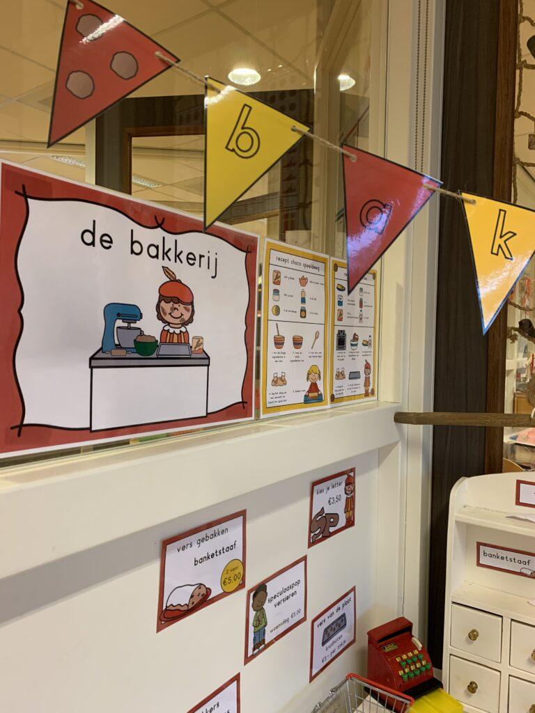 Sinterklaas bakkerij