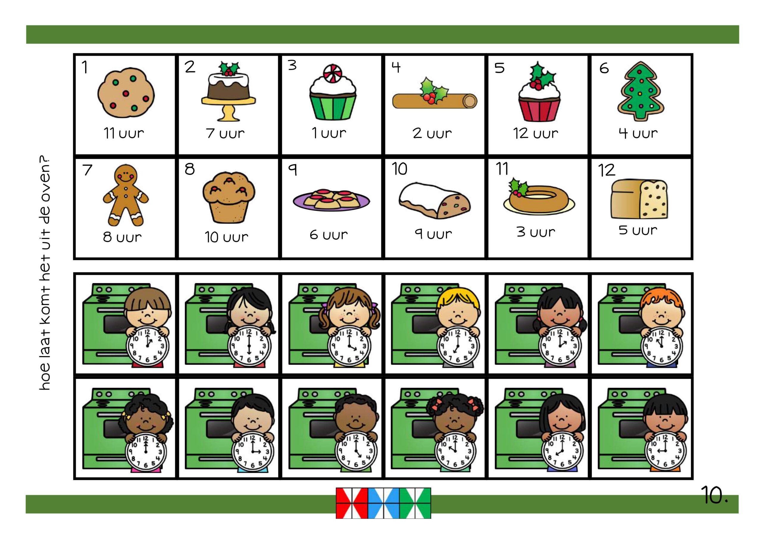 Rekencircuit thema kerst groep 3