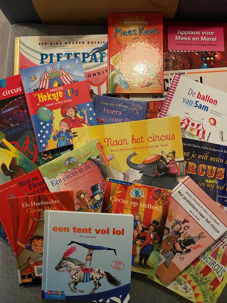 Leesboeken thema circus