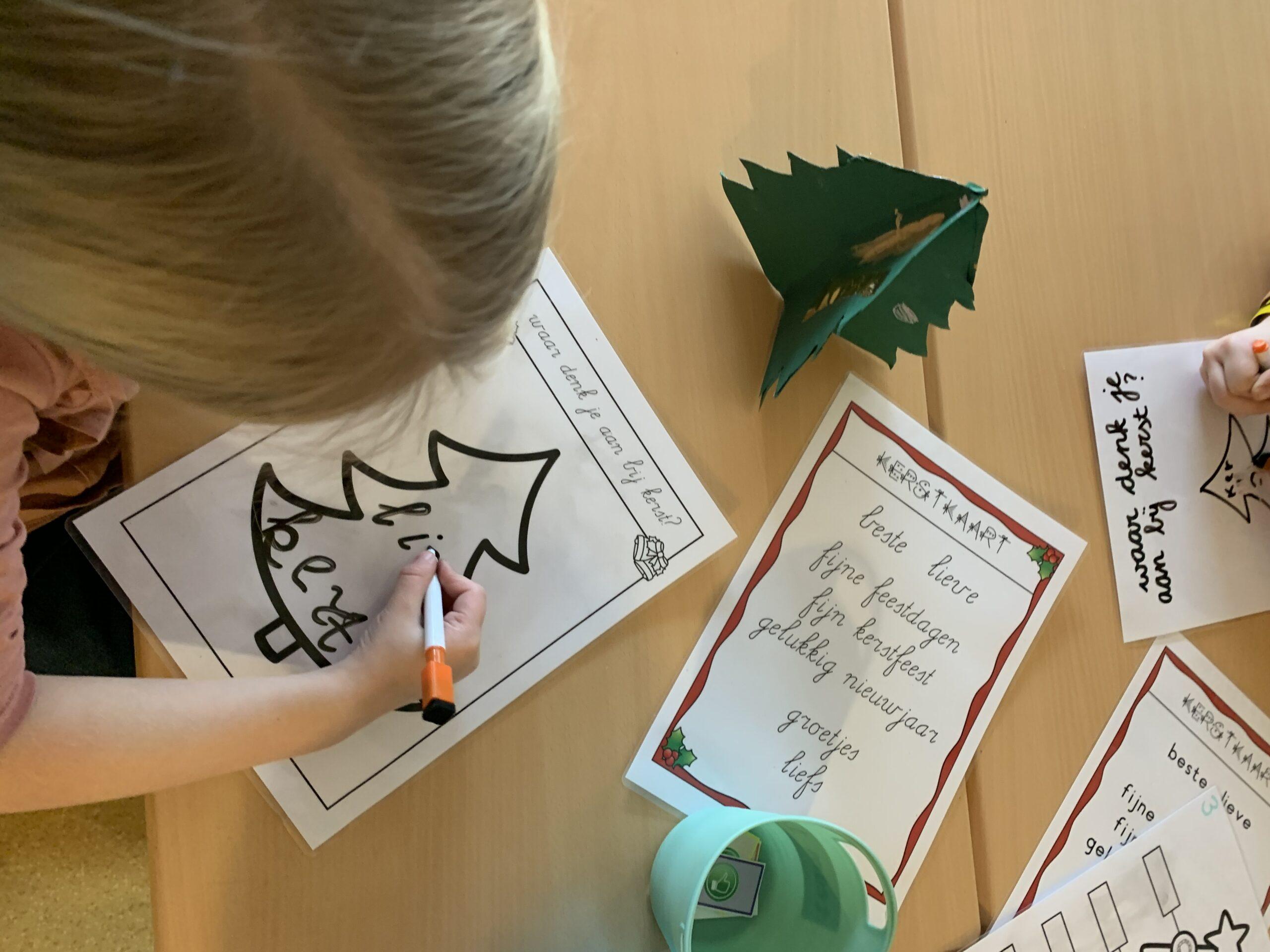schrijven bundel klasvanjuflinda Kerst
