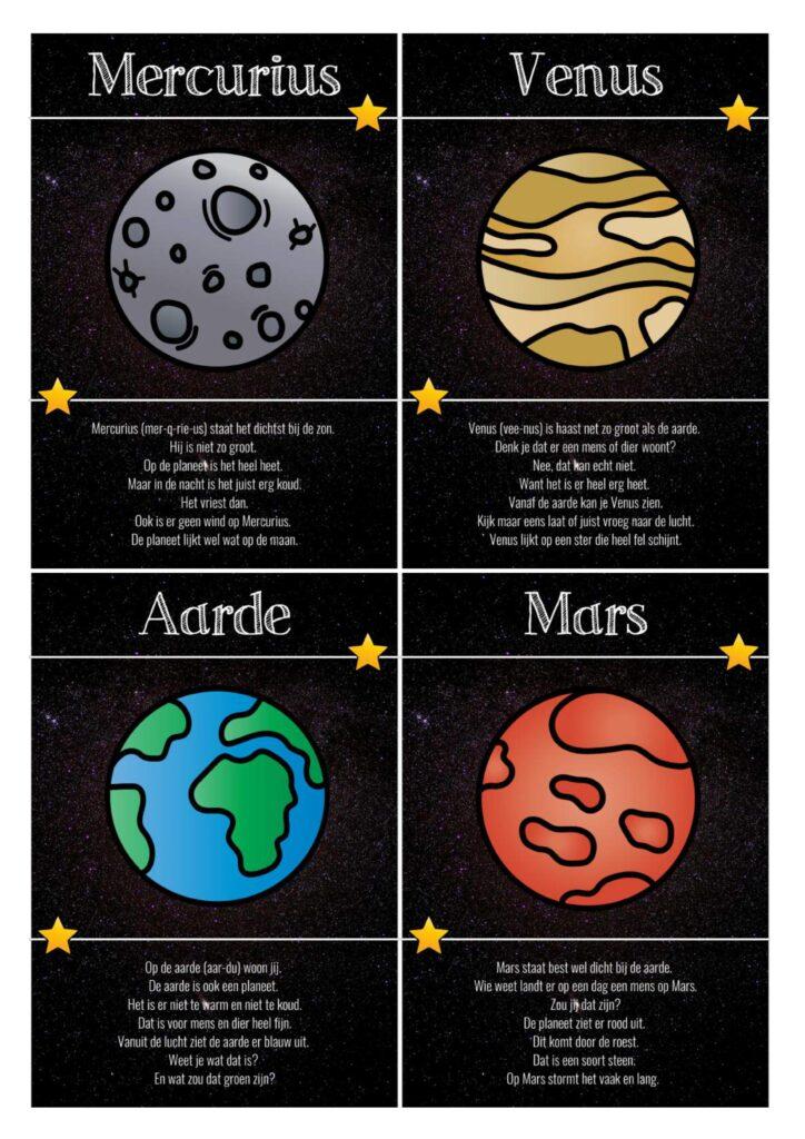 Thema heelal teksten