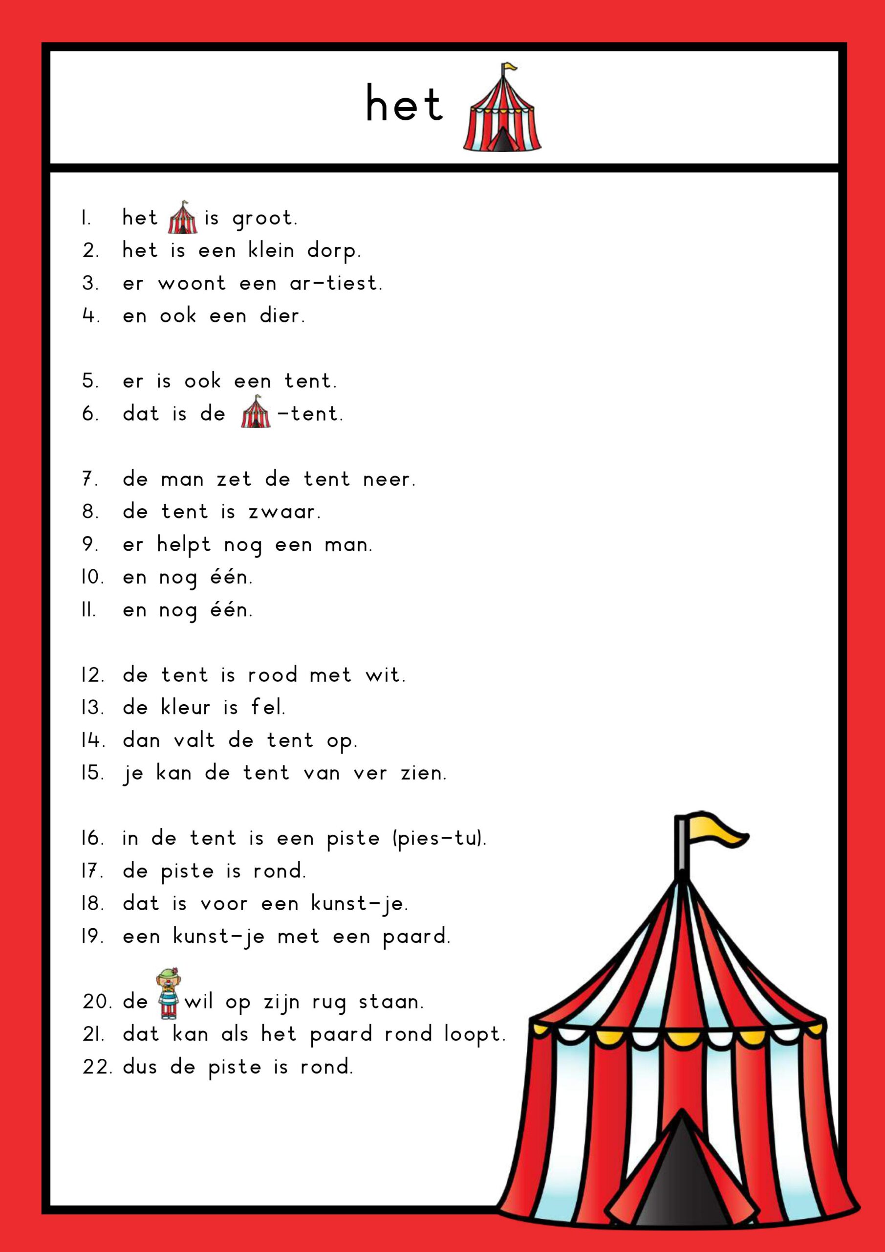 tekst circus