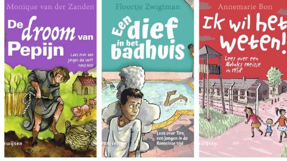 Boekenserie Duik in de tijd van...