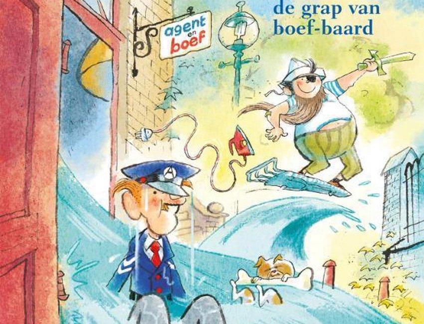 Agent en Boef; thematitel Kinderboekenweek 2021
