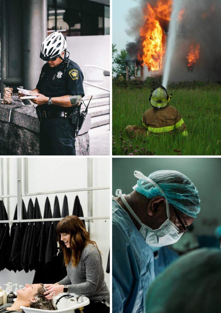 Thema beroepen spellen