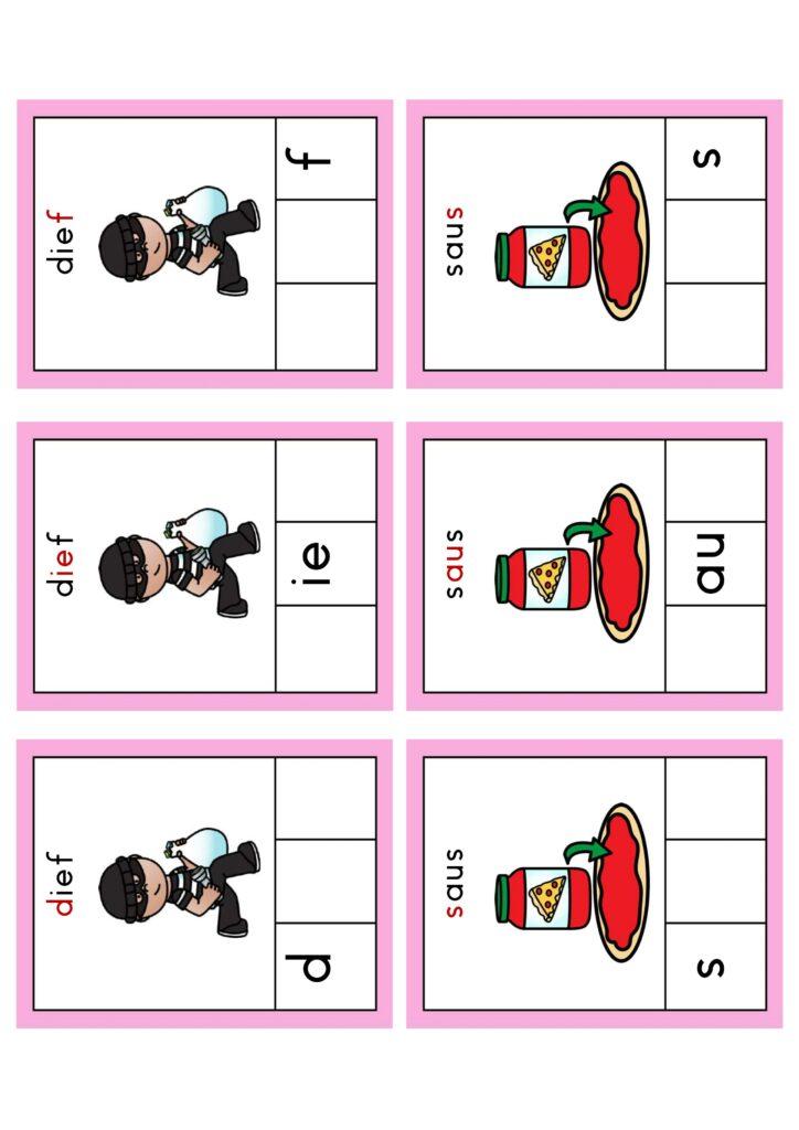 Leesspellen thema 4 Lijn 3