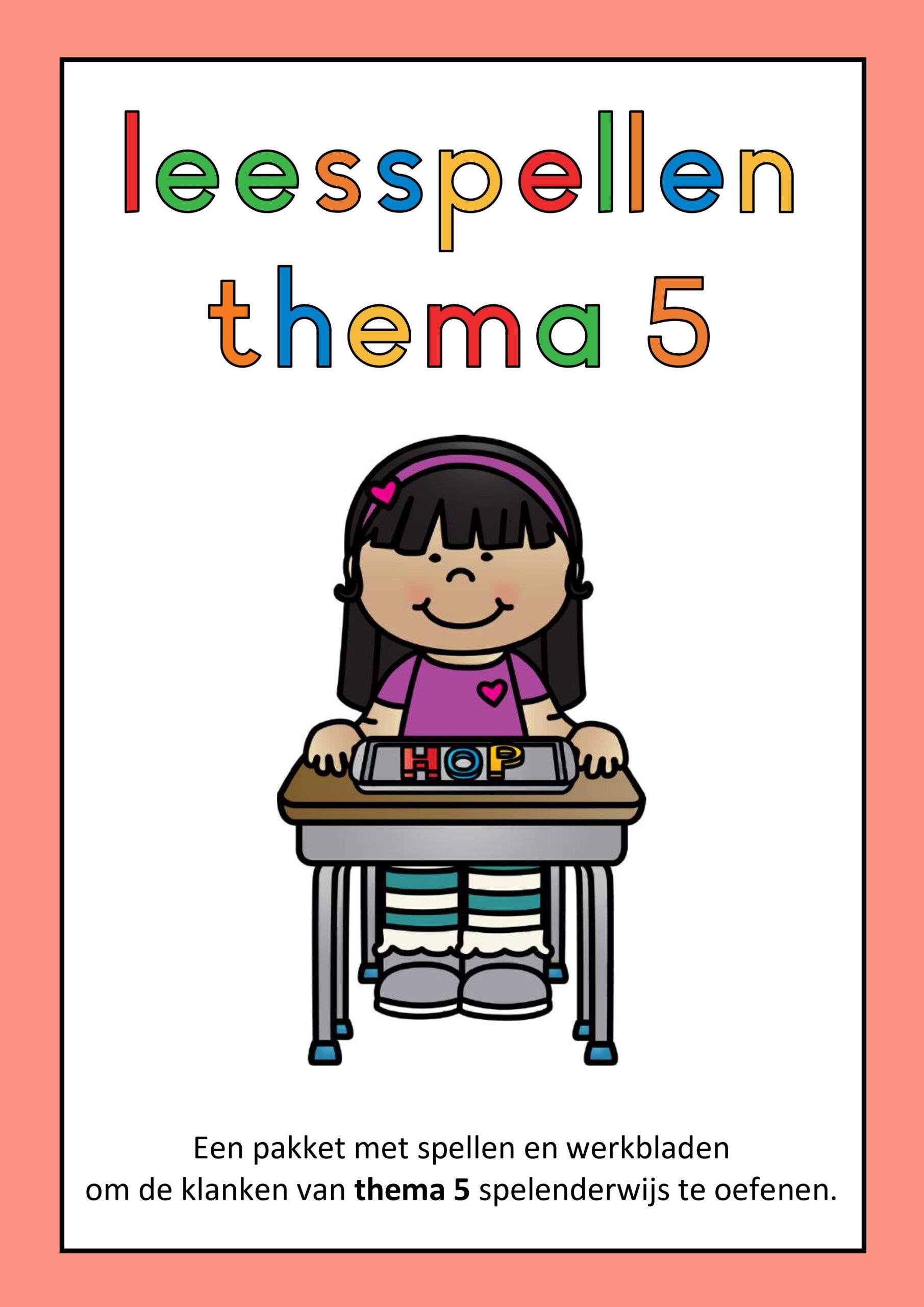 Leesspellen thema 5 Lijn 3